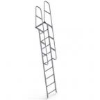 Лестница приставная с поручнями ЛПНА 3,0 (4,17)