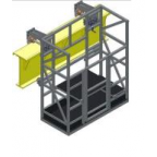 Люлька  ЛНАПк 100 - 1080х680 (с калиткой)