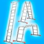 Четырёхсекционные лестницы (трансформеры)
