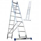 Двухсекционные лестницы Алюмет