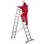 Лестница двухсекционная Новая высота NV100 2x7