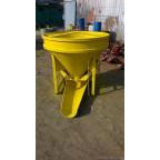 Бадья для бетона БКн-0.5 с рукавом