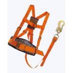 Удерживающая страховочная привязь с наплечными лямками УПС 2АД