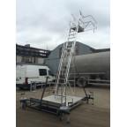 Лестница для подъема на вагон-цистерну и автоцистерну ВСА-4,8