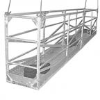 Площадка подвесная составная алюминиевая ППСА