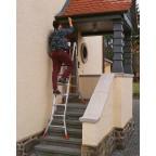 Трехсекционная универсальная лестница с допфункцией TRIBILO 3х8