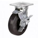 Колесо поворотное с тормозом 160 мм SCdb 63