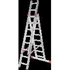 Трёхсекционные лестницы Новая высота (Серия 600)