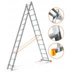 Двухсекционная лестница Гранит 2х12