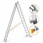 Двухсекционная лестница Гранит 2х14