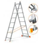 Двухсекционная лестница Гранит 2х8