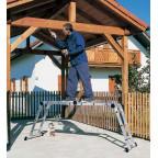Шарнирная лестница-трансформер 2х3+2х5 Z300