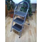 Стремянка-стул с широкими ступенями 3 ступ.