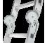 Лестница-трансформер шарнирная Новая высота 4х4