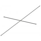 Диагональная связь 3м для строительных рамных лесов