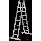 Лестница-трансформер шарнирная Новая высота 4х3 (четырехсекционная)