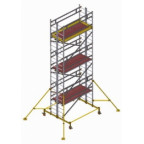 Вышка модульная алюминиевая ВМА 900/7