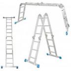 Шарнирная четырехсекционная лестница 4х4 Z100