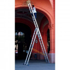 Трёхсекционная лестница Zarges Z100 Германия