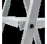 Стремянка комбинированная Новая высота 6 ступеней (серия 100) 1130106